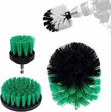 Drill Brush 360 Attachments 3Pcs/Set Medium- All