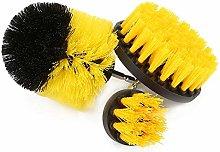 Drill Brush, 3pcs Drill Cleaning Brush Power