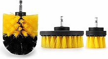 Drill Brush 3pcs Drill Scrubber Brush Power Full