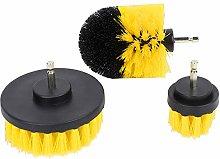 Drill Brush,3Pcs Electric Scrub Kit Brush