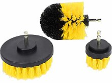 Drill Brush,3PCS Power Scrubber Brush Electric