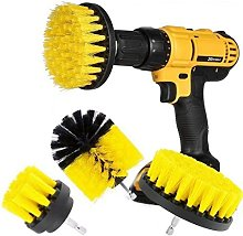 Drill Brush 3Pcs Scrub Brush Drill Attachment