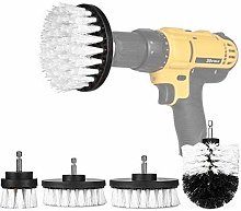 Drill Brush 4Pcs Scrub Brush Drill Attachment