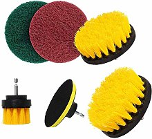 Drill Brush 6Pcs/Set Electric Drill Brush Kit