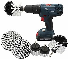 Drill Brush Attachment Kit Cleaning Supplies