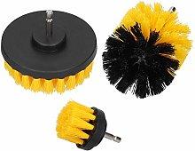 Drill Brush Attachment Set Nylon Hair Power