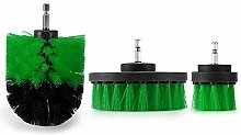 Drill Brush Attachment Set, Power Scrubber Brush