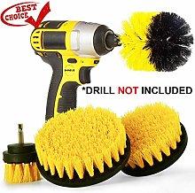 Drill Brush Attachment Set, Shineus 4Pcs Drill