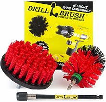 Drill Brush - Cleaning Kit with Extension - Deck