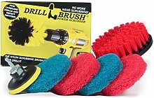 Drill Brush - Cleaning Supplies - Indoor -