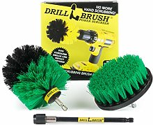 Drill Brush - Cleaning Supplies - Rotary Brush Kit