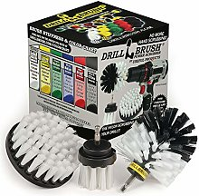 Drill Brush - Drill Brush Attachment – Cleaning