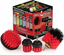Drill Brush - Outdoor - Cleaning Supplies - Garden