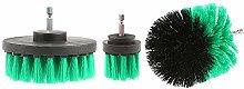 Drill Brush Power Scrubber Attachments, 3 Pcs/Set
