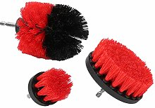 Drill Brush Red Drill Brush Attachment Industrial