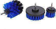 Drill Brush Scrubber Kit,3Pcs Drill Brush Scrubber