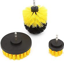 Drill Brushes, 3Pcs Drill Cleaning Brush Power