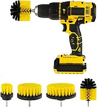 Drill Brushes Bathroom Kitchen Cleaning Supplies