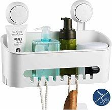 Drill-Free Shower Shelf Removable Bathroom Shower