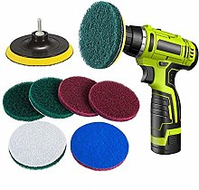 Drill Scouring Pads, Dyna-Living 8 Pieces Scrub