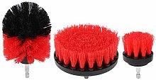 Drill Scrubber Brush Red Drill Scrubber Brush Kit