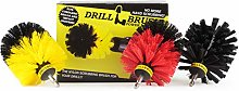Drillbrush 3 Piece Power Drill Cleaning Accessory