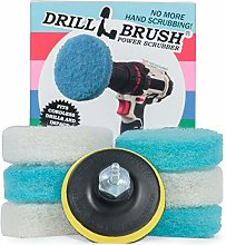 Drillbrush Bathroom Accessory Scrubber Pad Kit -