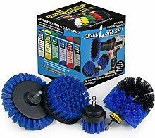 Drillbrush Blue – Boat Cleaning Drill Brush