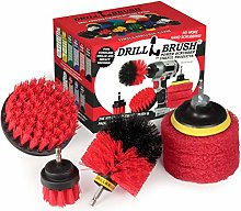 Drillbrush - Drill Brush Kit - Rotary Drill Brush