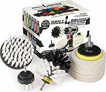 Drillbrush - Rotary Drill Brush Cordless Scrubber
