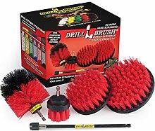 Drillbrush - Stiff Bristle Power Scrubber Cleaning