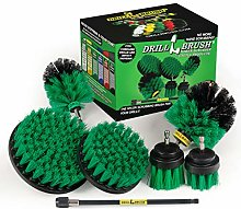 Drillbrush Ultimate Kitchen Cleaning Kit with 7