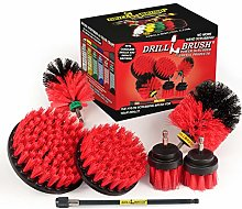 Drillbrush Ultimate Outdoor Cleaning Kit with 7