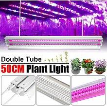 Drillpro - 20W T5 48 LED 50CM Grow Full Spectrum