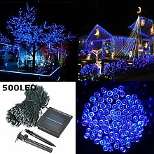 Drillpro - 50M 500 LED Solar Powered Fairy String