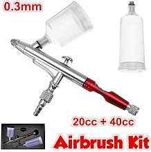 Drillpro - Profession 0.3mm Double Action Airbrush