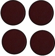 Drink Coasters Set of 4 Cup Pad Mat Non Slip PU