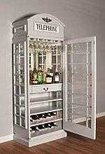 Drinks Cabinet - Iconic BT Telephone Box Style Bar