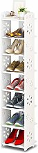 Dripex 8 Tier Shoe Rack Shoe Cabinet Storage Rack