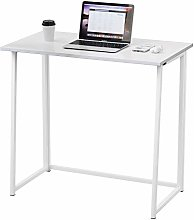 Dripex Compact Folding Desk No Assembly Required