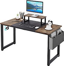 Dripex Computer Desk Industrial Writing Desk with