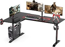 Dripex Ergonomic Gaming Desk L Shape Gaming