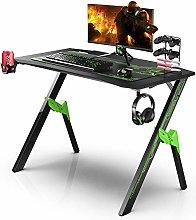 Dripex Ergonomic Gaming Desk with Large