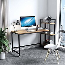 Dripex Tower Computer Desk with Storage Shelves,
