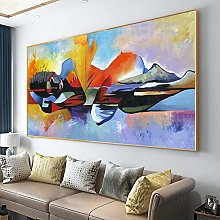 Drop shipping Larger Lord Buddha Abstract Oil