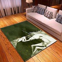 DRSTGYH Modern Rug Carpet Shaggy Area Rugs Animal