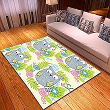 DRSTGYH Modern Rug Carpet Shaggy Area Rugs Cartoon