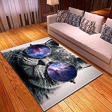 DRSTGYH Modern Rug Carpet Shaggy Area Rugs Grey