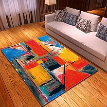 DRSTGYH Modern Rug Carpet Shaggy Area Rugs Red