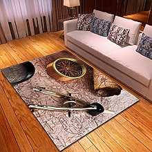 DRSTGYH Modern Rug Carpet Shaggy Area Rugs Retro